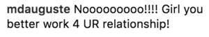 cardi b instagram comments after break up