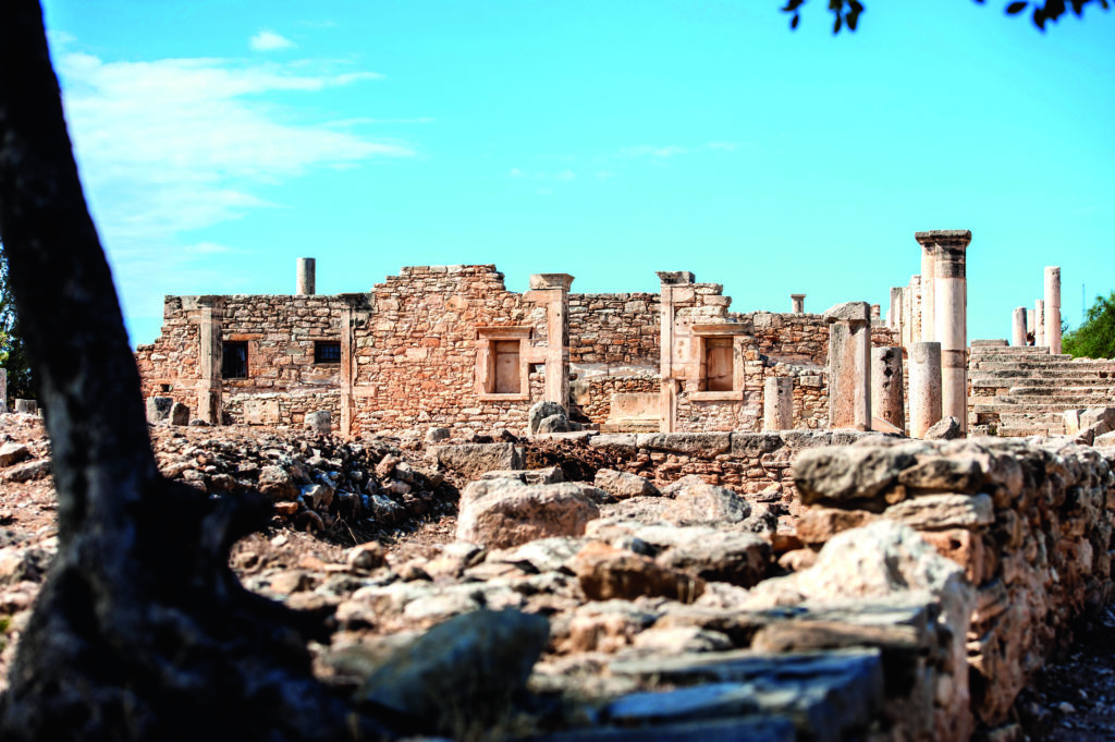 Historial location in Cyprus with TUI