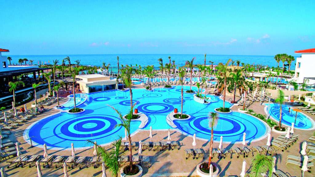 Cyprus Resort with TUI. Pool View.