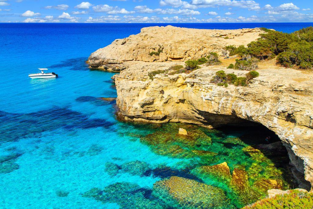 Sea in Cyprus TUI