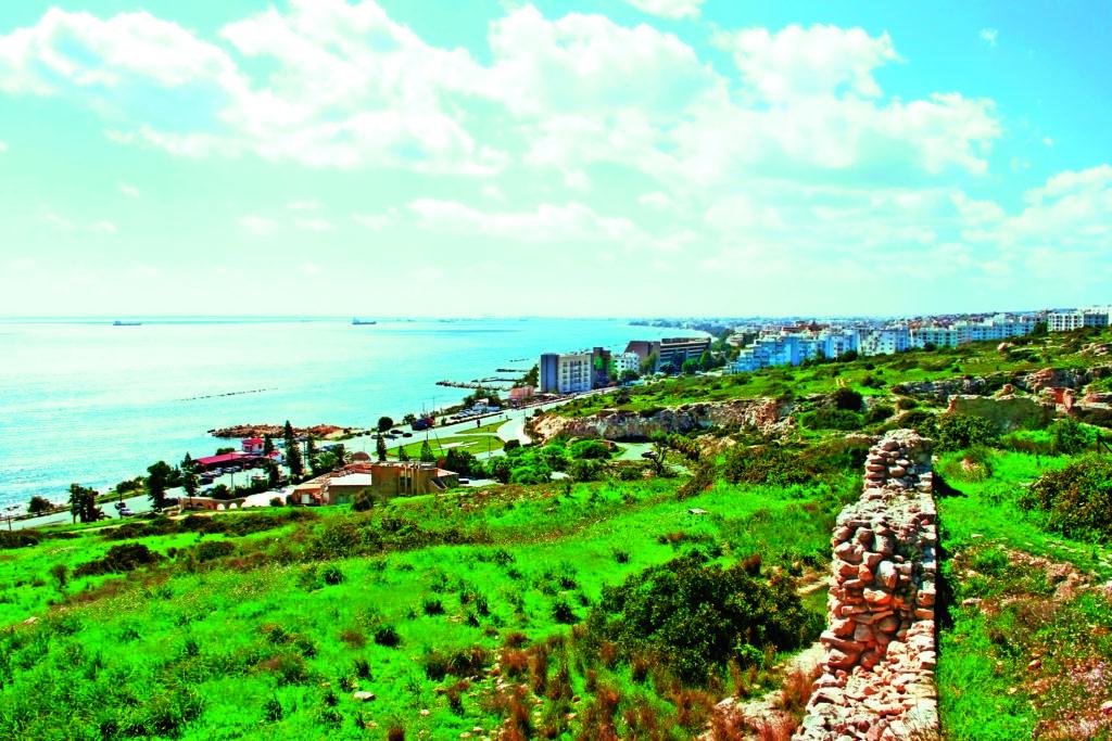 Hillside Cyprus. Destination wedding.
