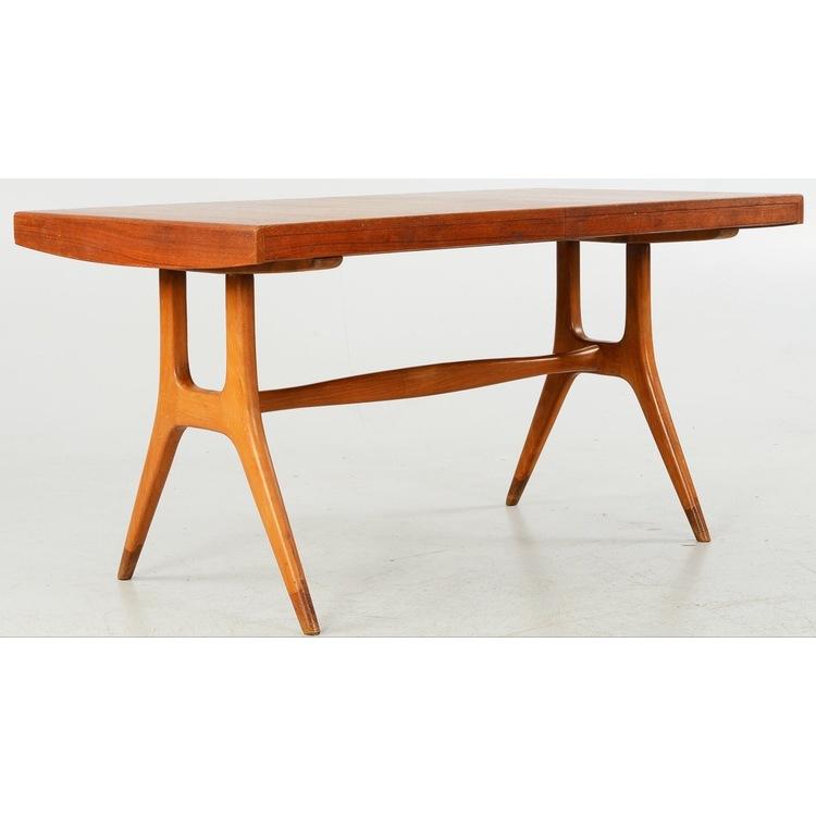 Matbord formgivet av David Rósen för Nordiska Kompaniet