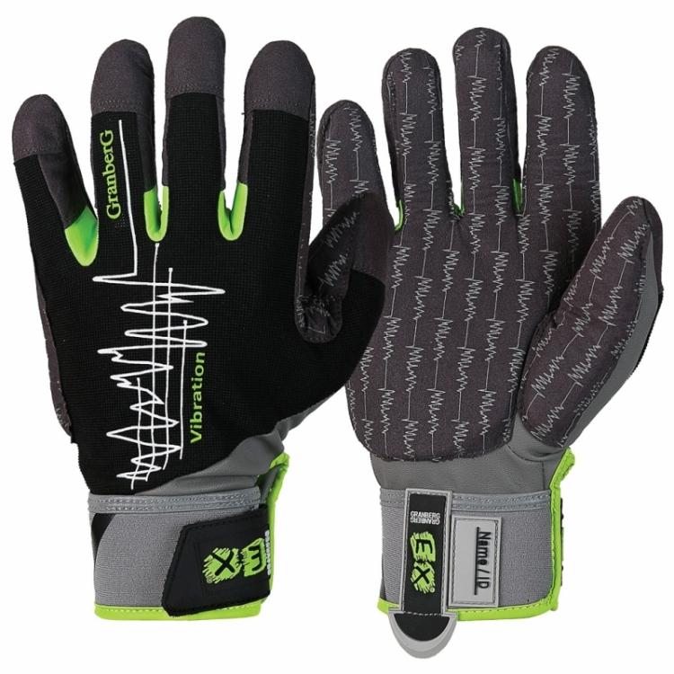 6-pack EX® vibrationsdämpande handskar i MacroSkin Pro®
