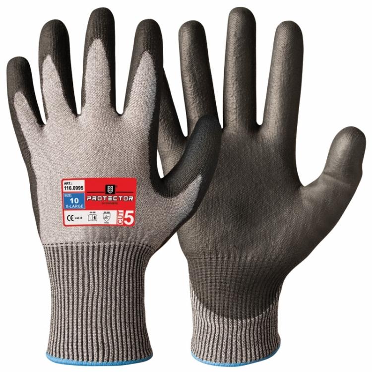 Protector® 12-pack skärskyddshandskar i blandfiber. 116.0995