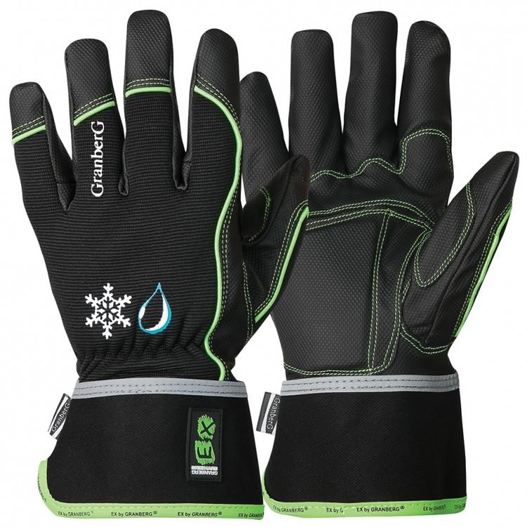 6-pack EX® allroundhandskar i MicroSkin Shield®, vinterfodrade och vattentäta