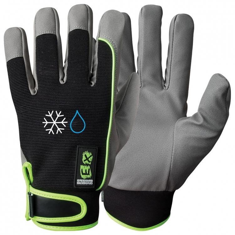 12-pack EX® montagehandskar i MicroSkin Shield®, vinterfodrad och vattentät