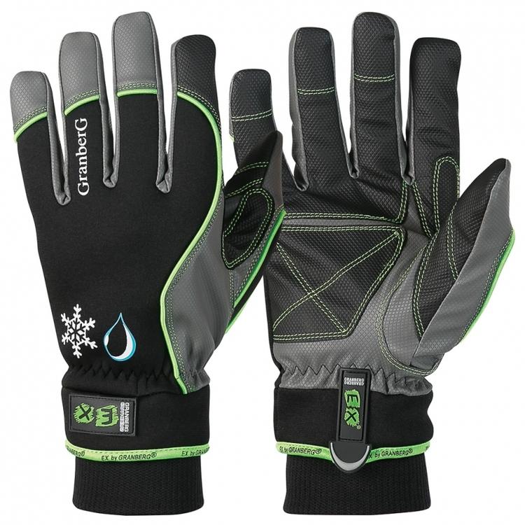 6-pack EX® allroundhandskar i MicroSkin Shield®, Vattentäta och vinterfodrade