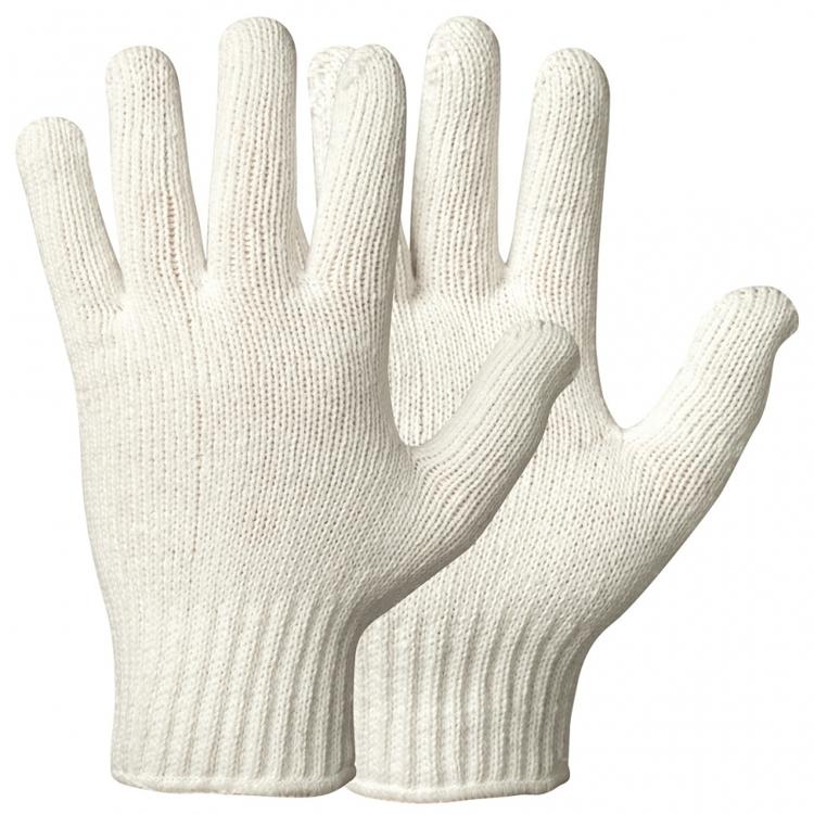 12-pack Granberg® stickade handskar i 100% bomull