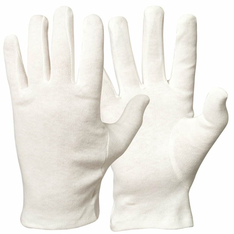 12-pack Granberg® bomullshandskar, blekta
