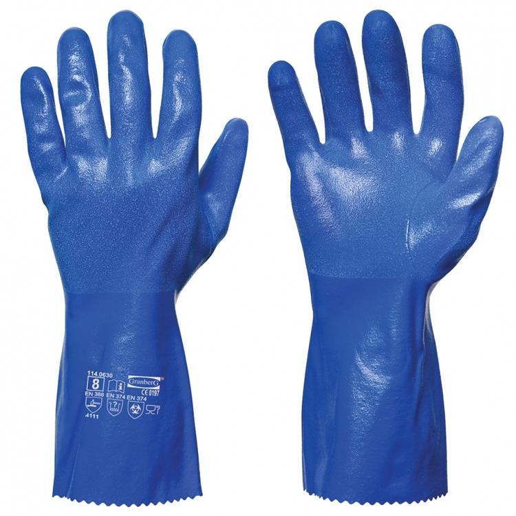 10-pack Granberg® kemikalieresistenta handskar i nitril
