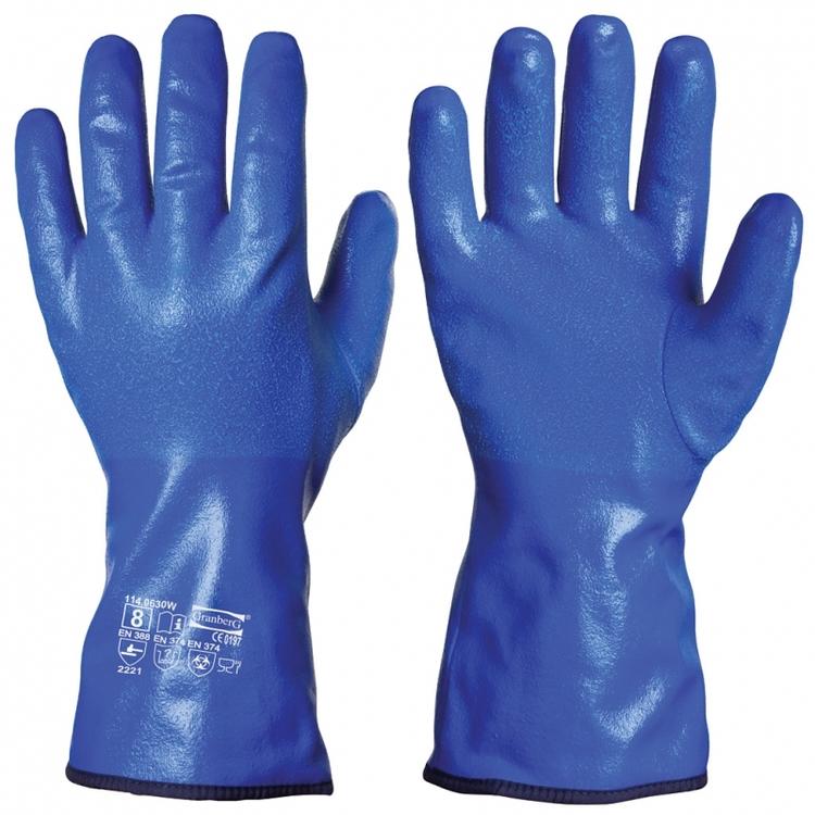 5-pack Granberg® kemikalieresistenta i nitril, vinterfodrad