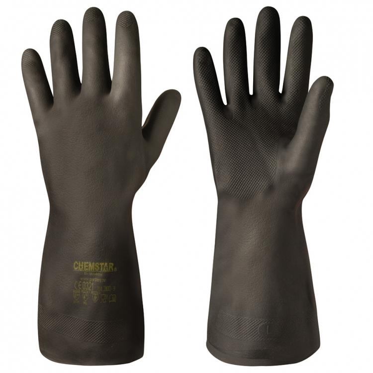 Chemstar® 6-pack kemikalieresistenta handskar i neopren. 114.2000