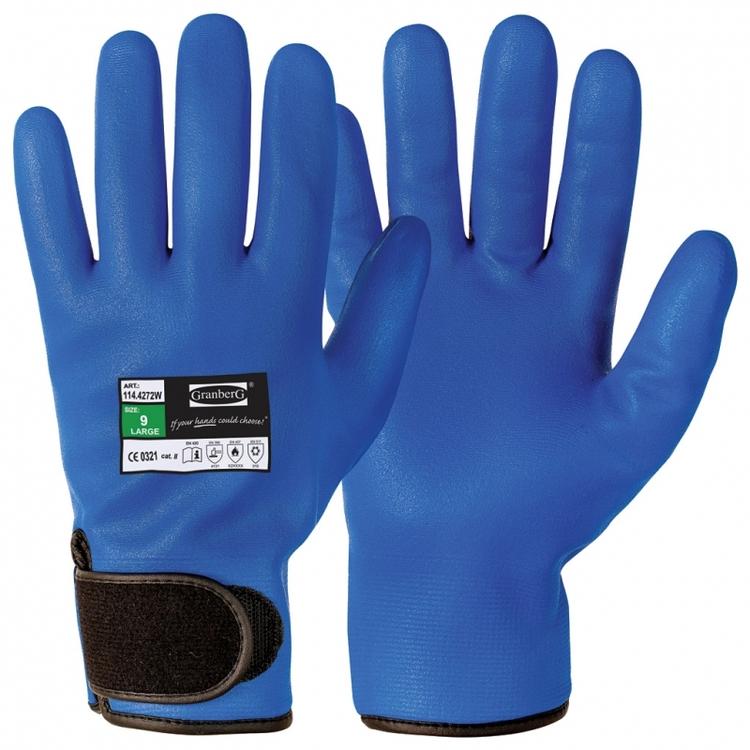 Granberg® 12-pack montagehandskar helbelagda med mikroskum i nitril, vinter. 114.4272W
