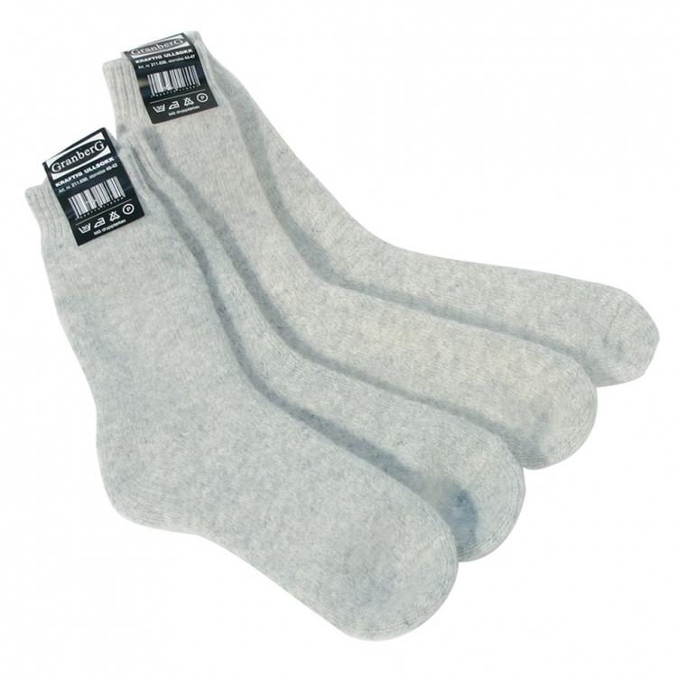 Granberg® 1-pack sockor i norskt ylle. 211.630