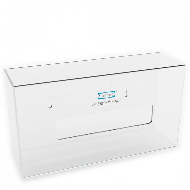Granberg® 2-pack dispenser för engångshandskar i plexiglas. 904.1000