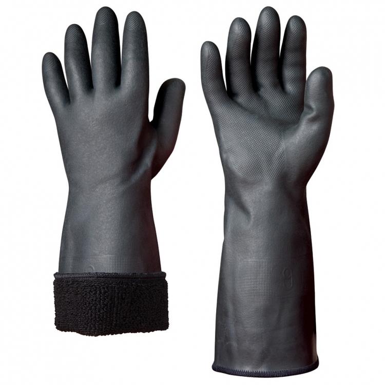 Granberg® 6-pack kemikalieresistenta handskar i neopren. 114.3000