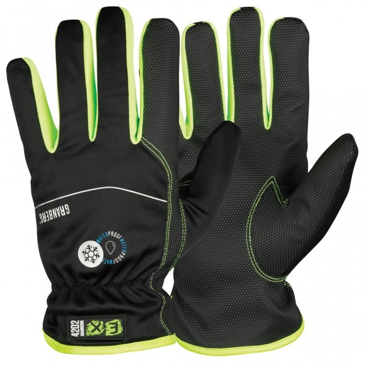 12-pack montagehandskar EX® Vattentäta och varmfodrade. Touchfunktion