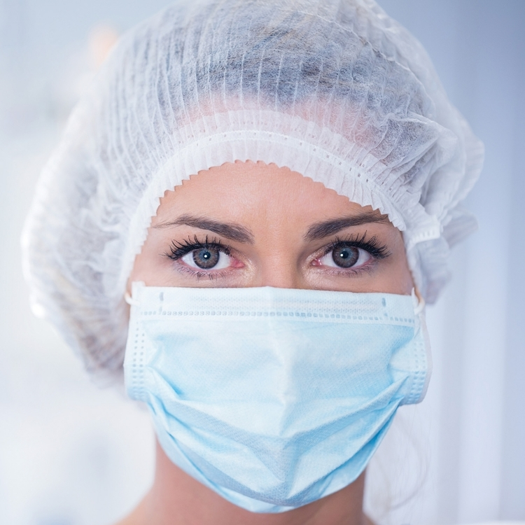 Medicinska munskydd Typ IIR