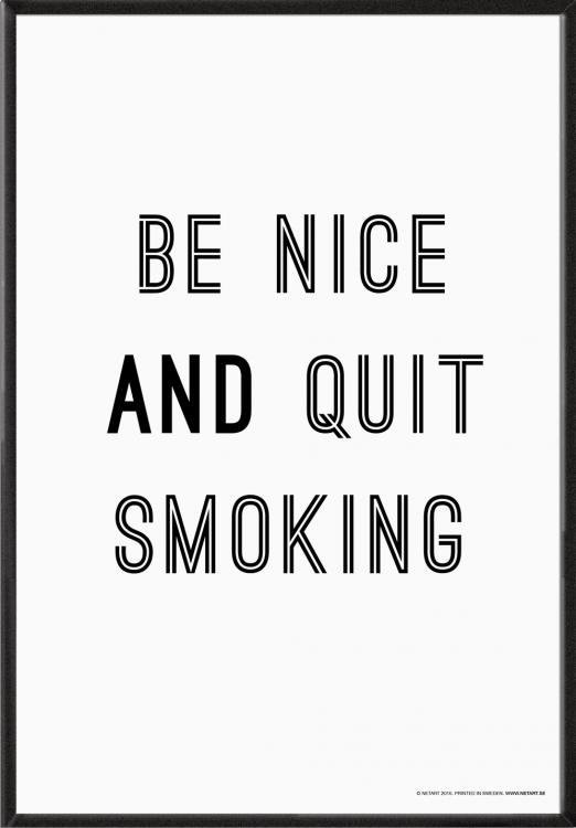 Be nice … (35x50 cm)