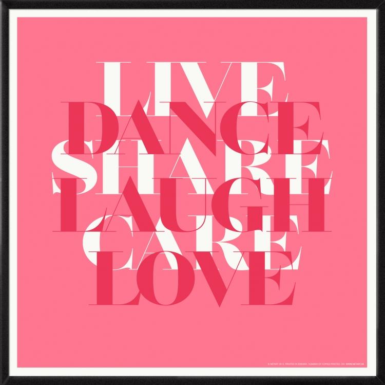 Poster Kärlek