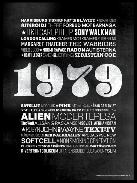 Poster med årtal - netart.se