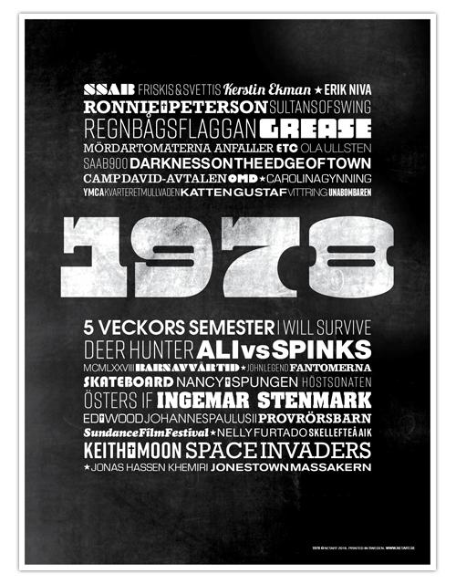 ÅRTALSPOSTER 1978
