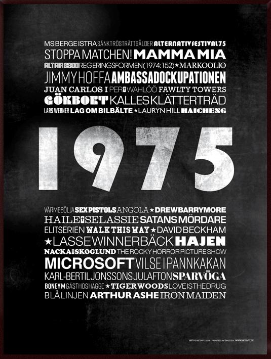 1975, poster, tavla