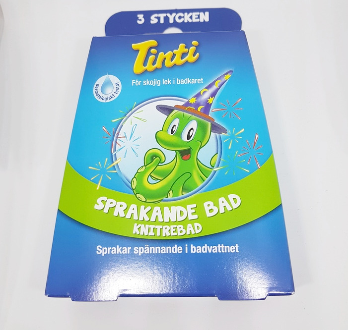 Sprakande bad 3-pack