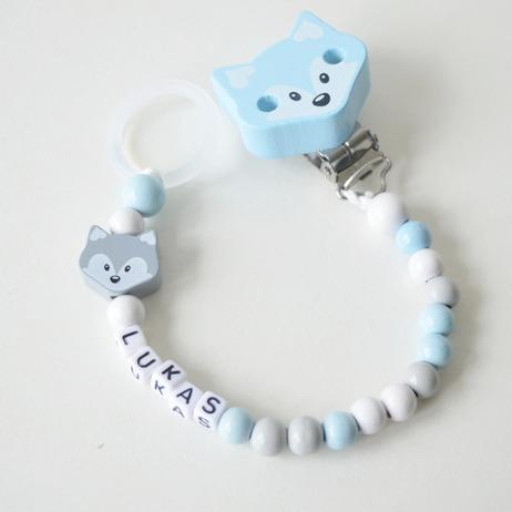Napphållare -  Blå rävfamilj