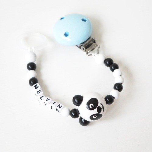 Napphållare- Vit Panda