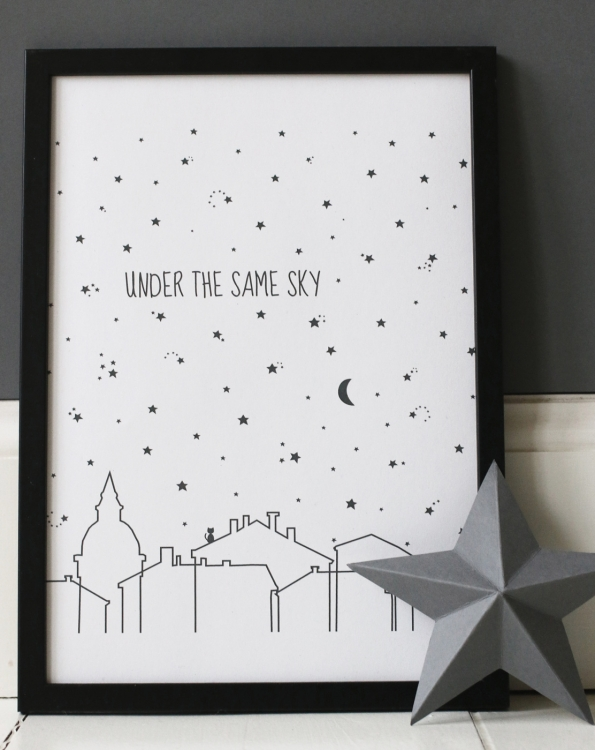 Poster - Under the same sky