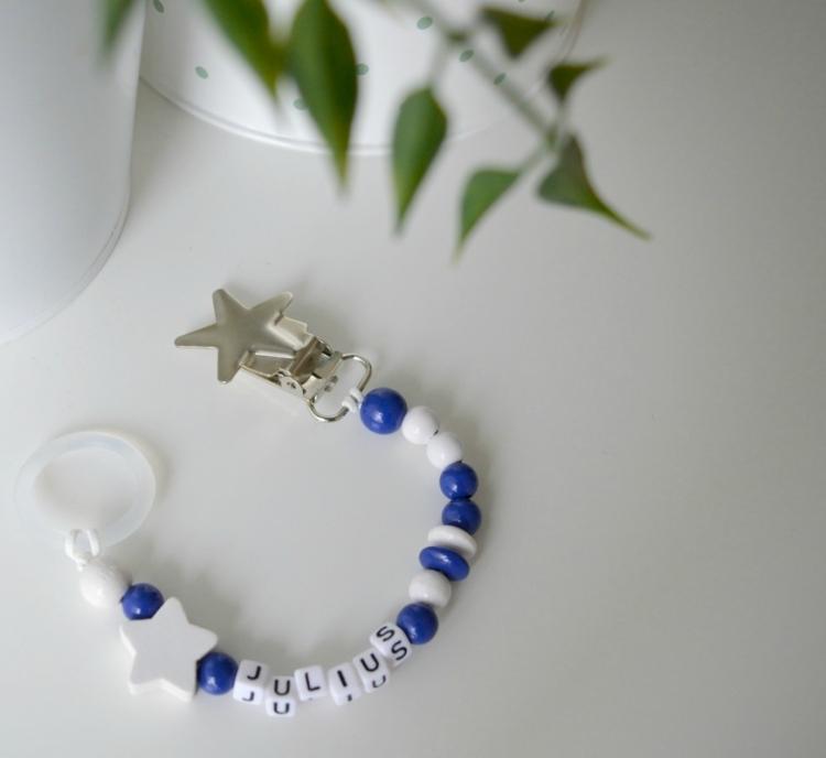 Napphållare -Busig Marinblå