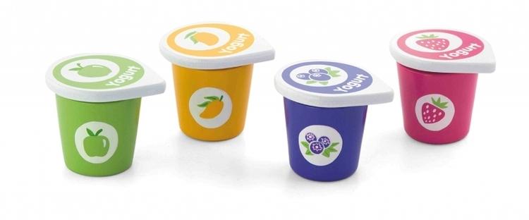 Yoghurt i trä 4-pack