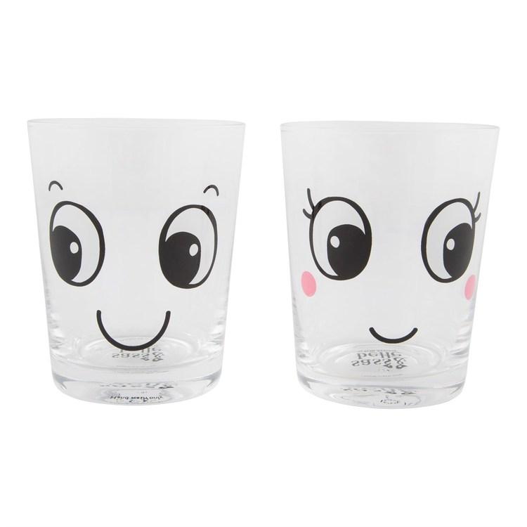 Glas - Glada ansikten