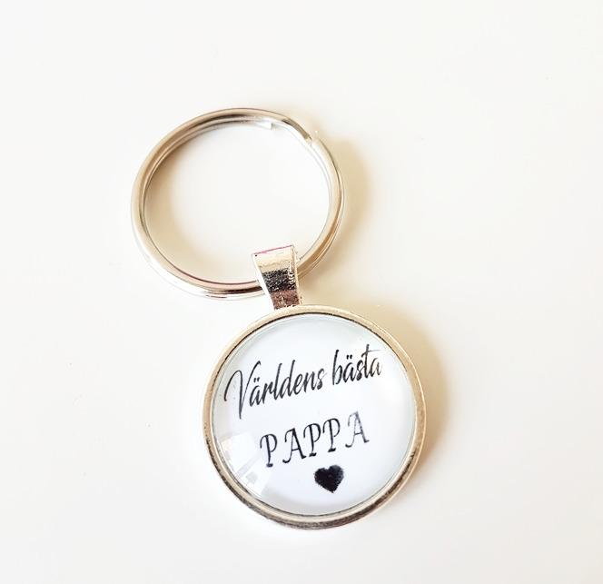 Nyckelring - Världens bästa pappa