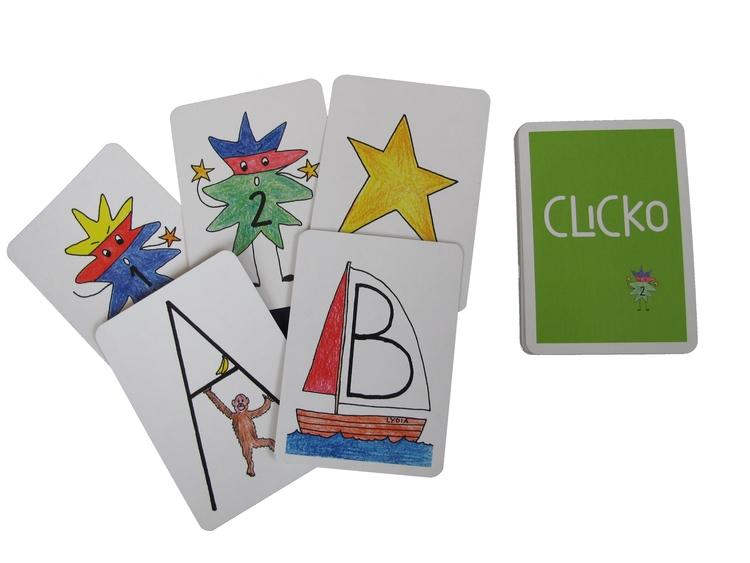 Spelkort Clicko
