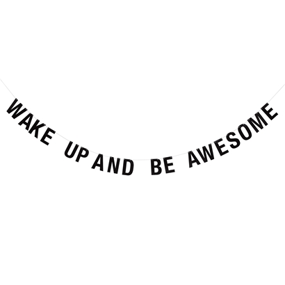 "Bloomingville Girlang ""Wake up and be awsome"""