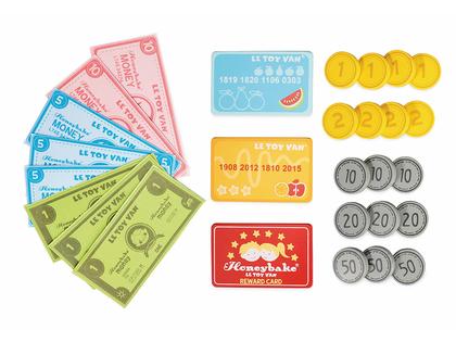 Leksakspengar & kort