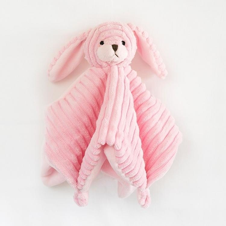 Snuttefilt - Rosa kanin
