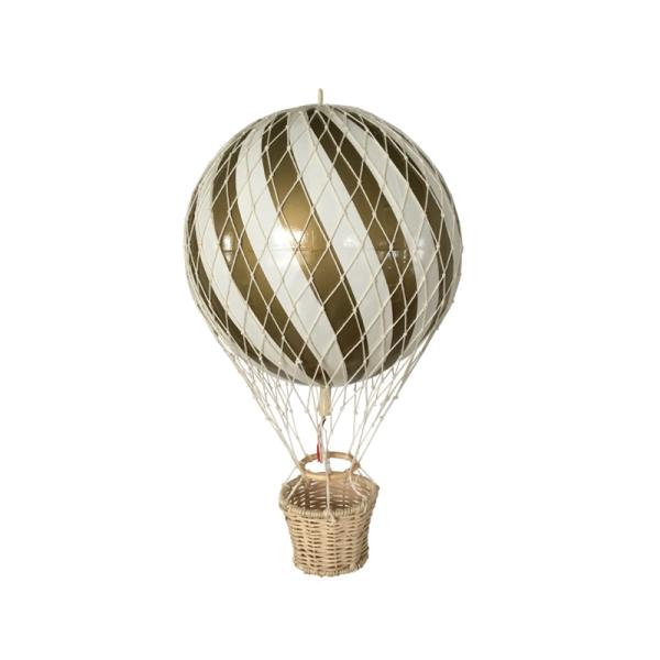 Luftballong 10 cm - Guld