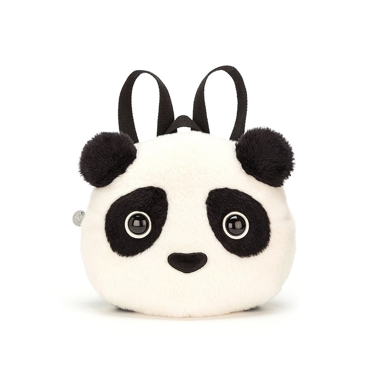 Ryggsäck - Fluffig panda