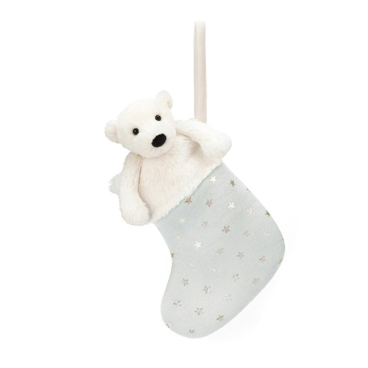 Julstrumpa - Isbjörn