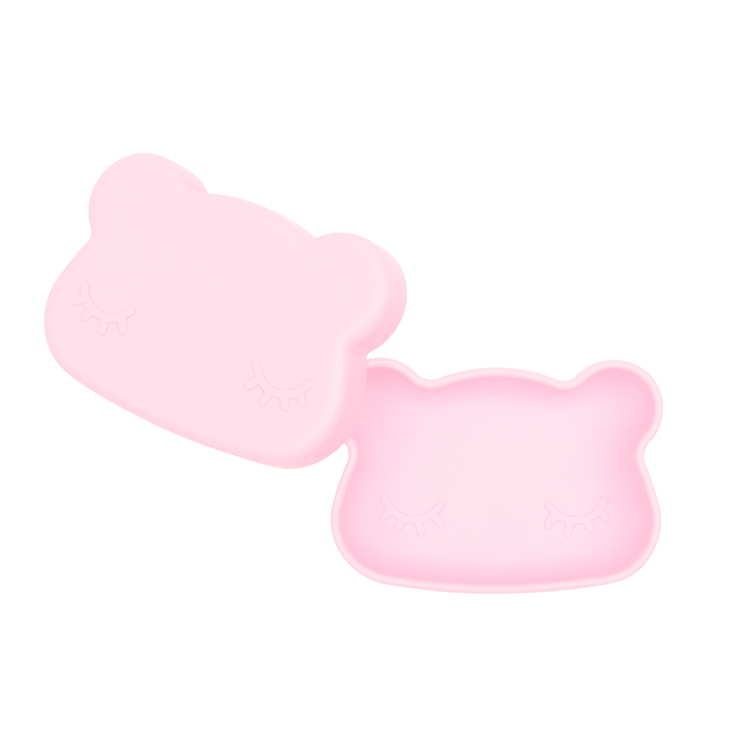 Matlåda i silikon - rosa