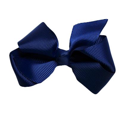 Rosett clips - Marinblå