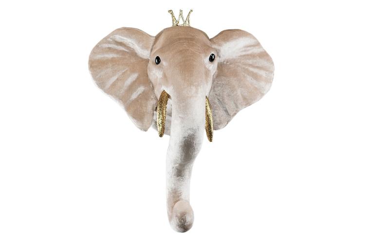 Djurhuvud - Elefantprins