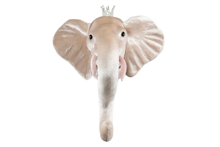 Djurhuvud - Elefantprinsessa