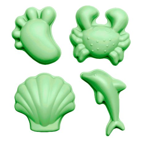 Sandformar - Ljusgrön