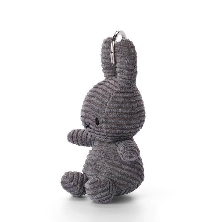 Nyckelring - Grå Miffy