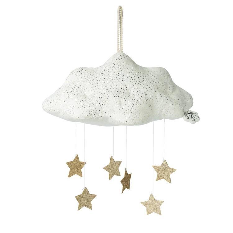 Sängmobil - Moln med stjärnor