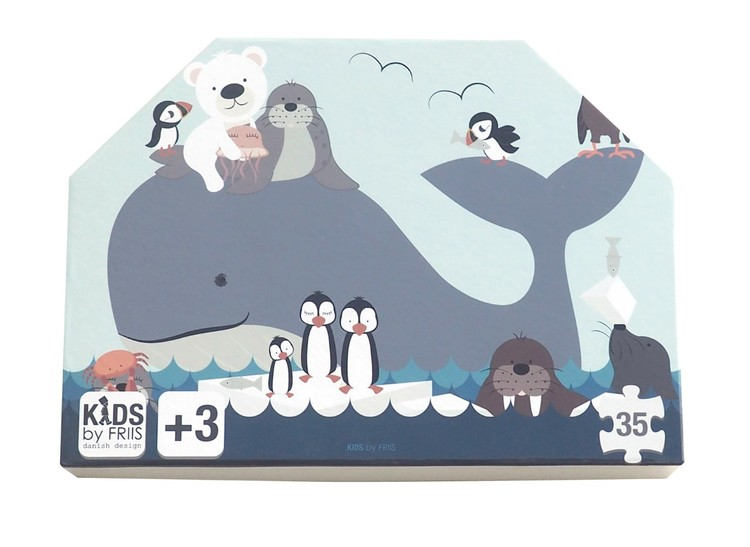 Pussel - Havets djur
